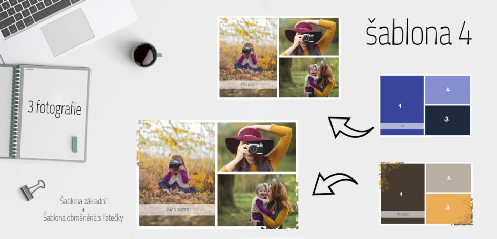 šablona 4 photoshop