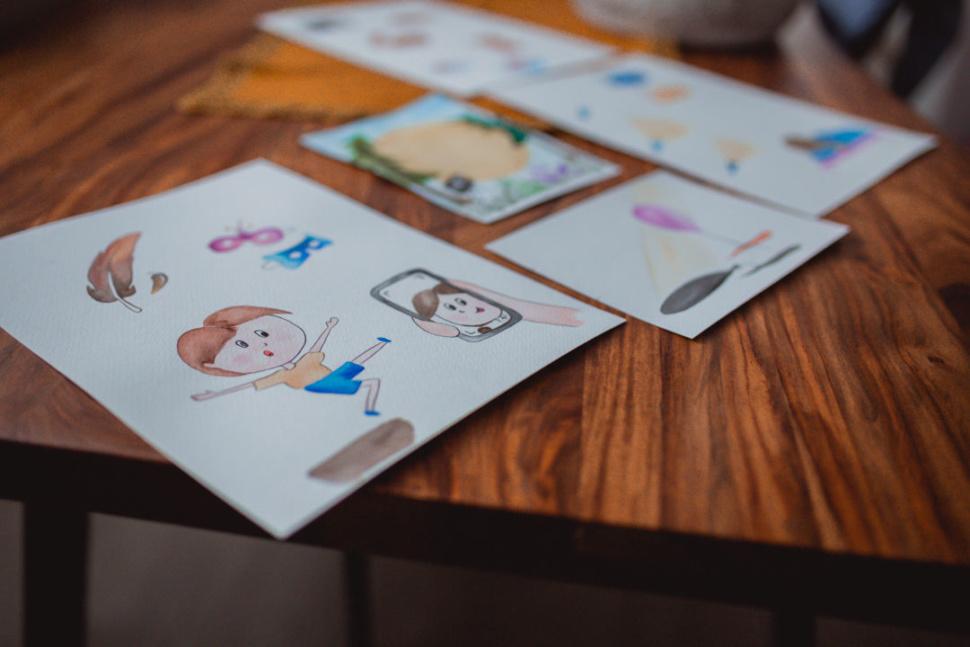 Rodinná karetní foto výzva