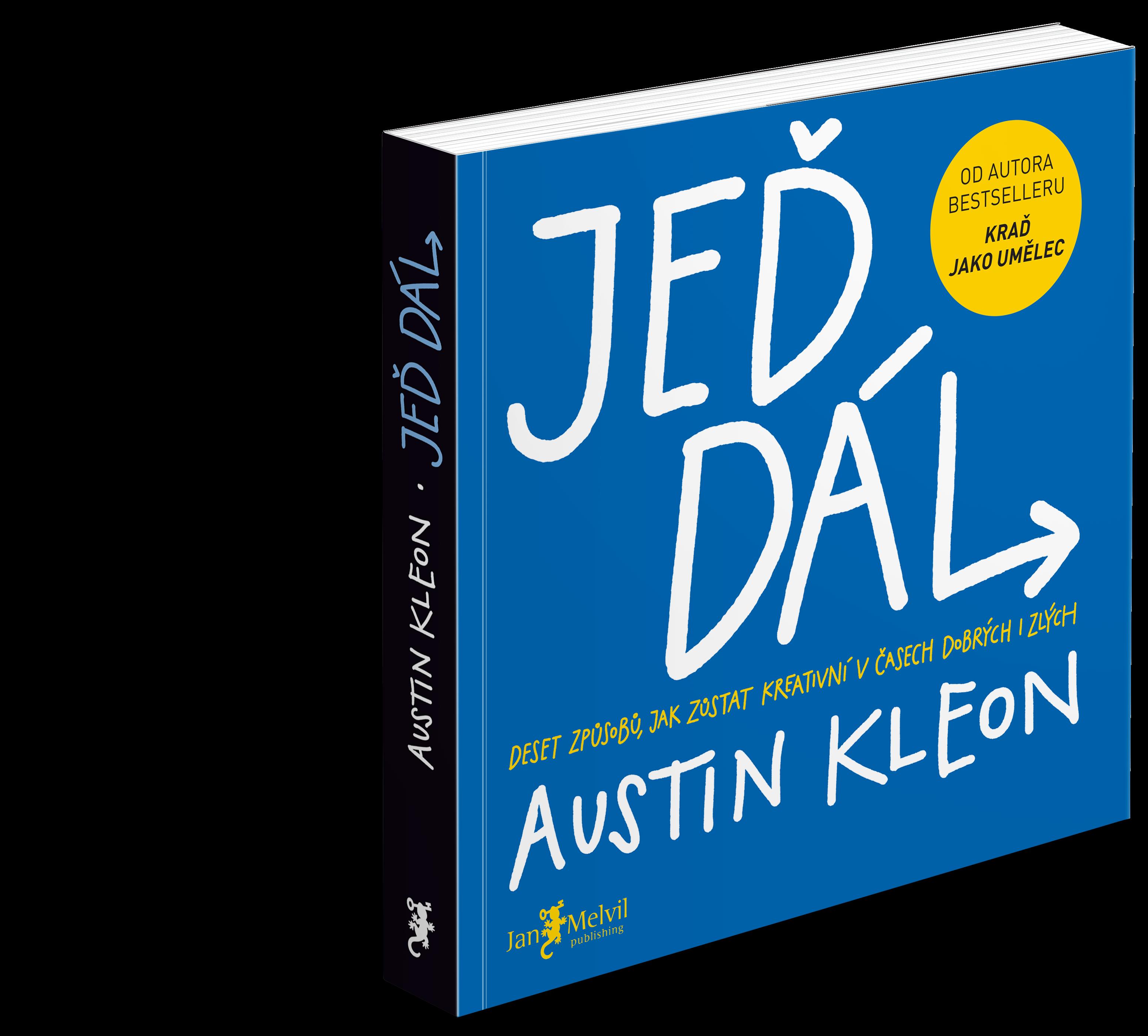Austin Kleon - skvělá kniha